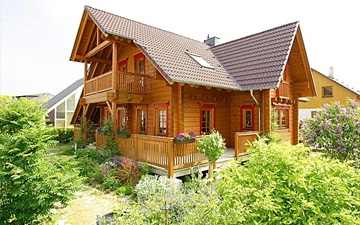 Fínske drevené domy